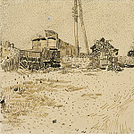 Railway Storage Yard, Vincent van Gogh