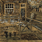 Vincent van Gogh - Back Garden of Siens Mothers House, the Hague