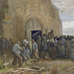 Sale of Building Scrap, Vincent van Gogh