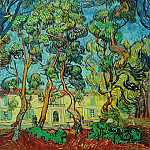 The Grounds of the Asylum, Vincent van Gogh