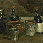 Still-Life with Bottles and Earthenware, Vincent van Gogh