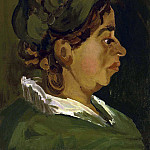 Head of a Peasant Woman, Vincent van Gogh