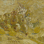 Still Life with Grapes, Pears and Lemons, Vincent van Gogh