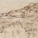 Enclosed Field behind Saint-Paul Hospital, Vincent van Gogh