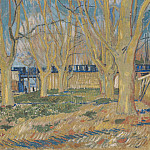 Avenue of Plane Trees near Arles Station, Vincent van Gogh