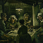 Vincent van Gogh - Potato eaters