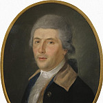 Portrait of a man in a powdered wig, Part 05 Hermitage