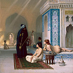Gerome, Jean Leon – Pool in the Harem, Part 05 Hermitage