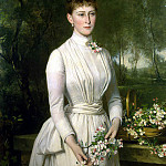Part 05 Hermitage - Zon, Karl Rudolf - Portrait of Grand Duchess Elizabeth Feodorovna