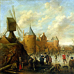 Part 05 Hermitage - Drohslot, Jost Cornelisz - Winter in the Dutch city
