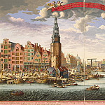 Part 05 Hermitage - View Towers packers of herring and New Fish Market by the Bay Hey Amsterdam
