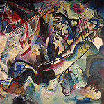 Kandinsky, Vladimir – Composition VI, Part 05 Hermitage