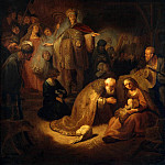 Adoration of the Magi , Part 05 Hermitage