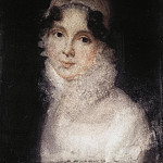 Portrait of a young woman in white, Part 05 Hermitage
