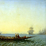 Part 05 Hermitage - Zim, Felix Francois Georges Philibert - Harbour at Constantinople