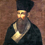 Portrait of a missionary Matteo Ricci, Part 05 Hermitage