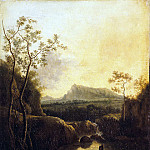 Part 05 Hermitage - Landscape with waterfall