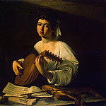 Caravaggio - Lute-Player, Part 05 Hermitage
