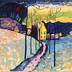 Kandinsky, VV – Winter landscape, Part 05 Hermitage