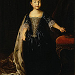 Portrait of Natalia Petrovna, the daughter of Peter I and Catherine I, Part 05 Hermitage