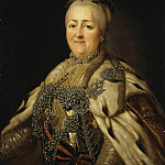 Portrait of Empress Catherine II, Part 05 Hermitage