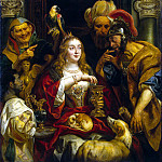 Jordaens, Jacob – Cleopatras Feast, Part 05 Hermitage