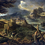 Dugue, Gaspard – Landscape with lightning, Part 05 Hermitage