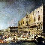 Part 05 Hermitage - Canale, Antonio - Reception of the French Ambassador in Venice