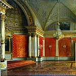 Zaryanko, Sergei Konstantinovich – Types of rooms of the Winter Palace. Peter Hall, Part 05 Hermitage