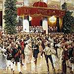 Kardovsky, Dmitrii Nikolaevich – Ball at the St. Petersburg Nobles February 23, 1913, Part 05 Hermitage