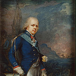 Portrait of Grand Duke Konstantin Pavlovich against the background of the battle of Novi, Part 05 Hermitage