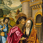 Meeting St. Joachim and St. Anna at the Golden Gate, Part 05 Hermitage
