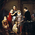 Portrait of the family of Prince NG Repnin-Volkonsky, Part 05 Hermitage