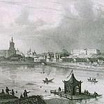 Part 05 Hermitage - Zhakotte, Louis Julien - Panoramic view of the city of Kazan on the south side