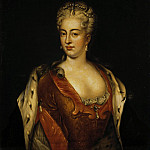 Portrait of Charlotte Sophia Christine of Brunswick-Lüneburg, Part 05 Hermitage