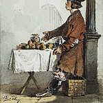 Zichy, Mihaly - Seller of apples and carrots, Part 05 Hermitage