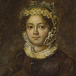 Part 05 Hermitage - Portrait of a young woman in a cap with a blue ribbon