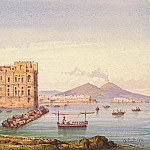 Part 05 Hermitage - Carell, Achille - Neapolitan Landscape with a view of Vesuvius