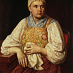 Portrait of a merchants wife, Anna Filatova, Part 05 Hermitage