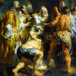 Jordaens, Jacob – The Apostles Paul and Barnabas at Lystra, Part 05 Hermitage