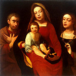 Part 05 Hermitage - Carot, Giovanni Francesco - Madonna and Child with St. Francis and St. Catherine