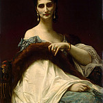 Portrait of the Comtesse de Keller, Alexandre Cabanel