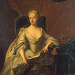 Portrait Ulrika-Eleonora younger, Queen of Sweden, Part 05 Hermitage