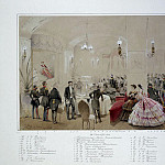 Zichy, Mihaly – Alexander II with the courtiers in the Arsenal Hall of the Gatchina Palace, Part 05 Hermitage