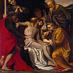 Carracci, Agostino – Lamentation of Christ, Part 05 Hermitage