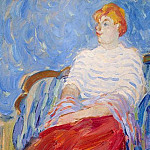 Part 05 Hermitage - Dufy, Raoul - Portrait of Suzanne Dufy, sister of the artist