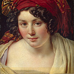 Part 05 Hermitage - Girodet, Louis - Head of a Woman in a turban