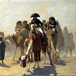 Part 05 Hermitage - Gerome, Jean Leon - Bonaparte and his staff in Egypt