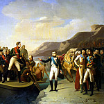 Farewell of Napoleon and Alexander I at Tilsit, Part 05 Hermitage