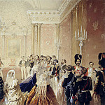 Part 05 Hermitage - Zichy, Mihaly - Congratulations to Alexander II, 1 January 1863 the diplomatic corps